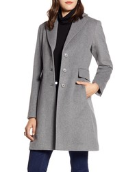 Halogen Single Breast Wool Blend Jacket