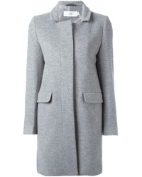 Closed Single Breasted Midi Coat