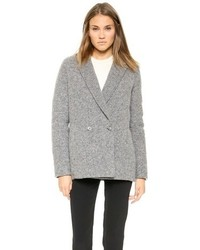 Alexander Wang T By Felt Nylon Reversible Coat
