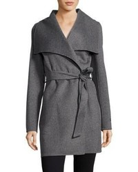 T Tahari Ella Double Face Wrap Coat