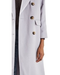 Topshop Double Breasted Coat