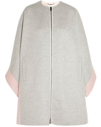 Fendi Two Tone Cashmere Coat