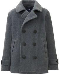 Uniqlo Boys Fleece Pea Coat