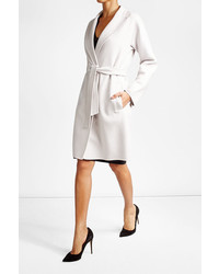 Max Mara Virgin Wool Coat With Angora