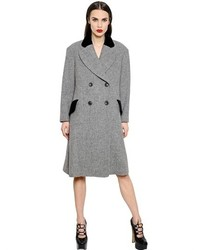 Vivienne Westwood Oversized Wool Harris Tweed Coat