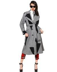 Vivienne Westwood Patchwork Wool Twill Coat