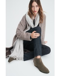 Eileen Fisher Wool Alpaca Blend Long Coat