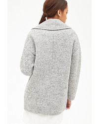 Forever 21 Wool Blend Boucle Coat | Where to buy & how to wear
