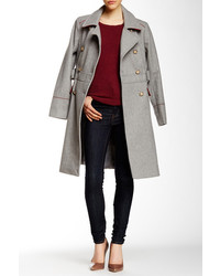 Vince Camuto Wool Blend Mid Coat