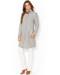 Lauren Ralph Lauren Wool Blend Walker Coat