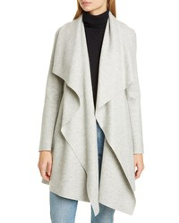 Harris Wharf London Wool Pressed Wool Blanket Coat