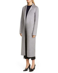Adam Lippes Zibelline Patch Pocket Cashmere Car Coat