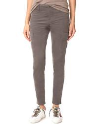 Grey Corduroy Pants For Women Lookastic