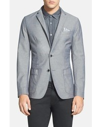 c9aa79b4b Men's Grey Cotton Blazers by Hugo Boss | Men's Fashion | Lookastic.com