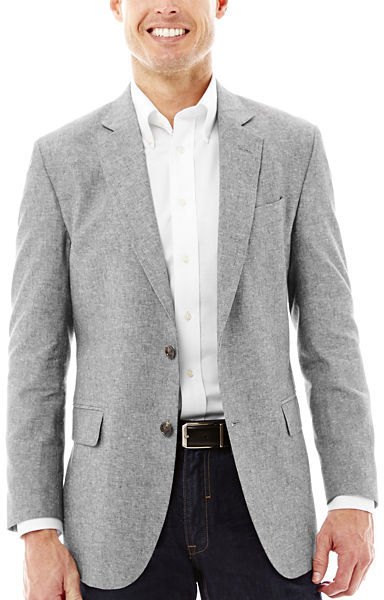 Stafford Signature Linen Cotton Sport Coat | Where to buy & how to