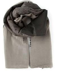 Grey Cotton Scarf