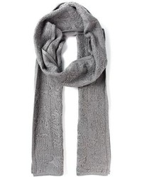 Alexander Wang Distressed Knit Scarf