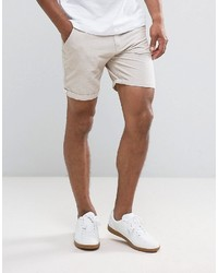 Brave Soul Oxford Cotton Shorts