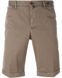 Pt01 Folded Hem Chino Shorts