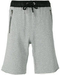 Diesel Zipped Pockets Drawstring Sweatshorts