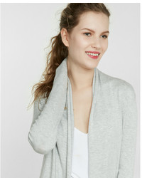 Express Heathered Roll Neck Cover Up