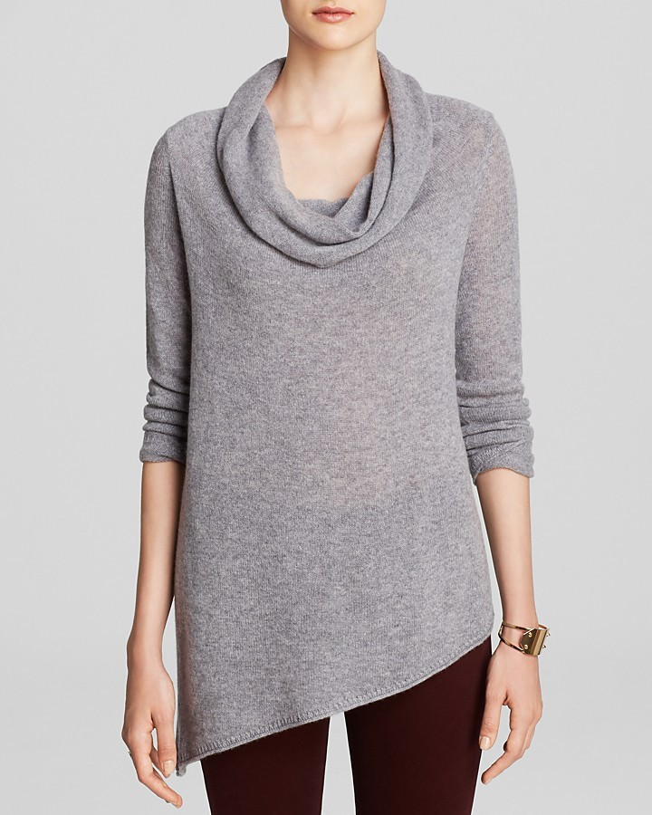 Magaschoni Asymmetric Cowl Cashmere Sweater | Where to buy & how ...