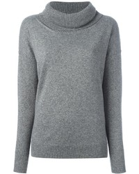 Blumarine Cowl Neck Sweater