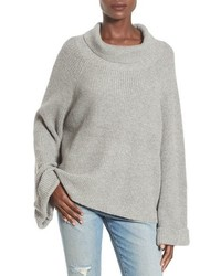 Cowl neck shaker pullover medium 867176