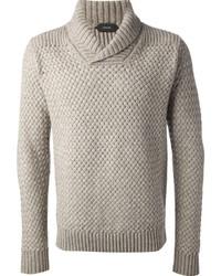 Cowl neck sweater medium 3366