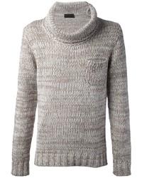 Cowl neck sweater medium 3368