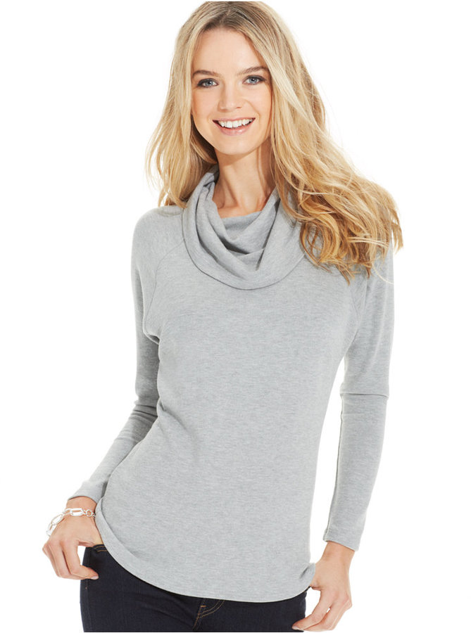 Karen Kane Cowl Neck Sweater | Where to buy & how to wear