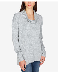 Lucky Brand Cowl Neck Tunic Sweater