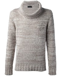 Daniele fiesoli cowl neck sweater medium 3368