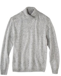 3.1 Phillip Lim For Target Mock Neck Sweater Light Heather