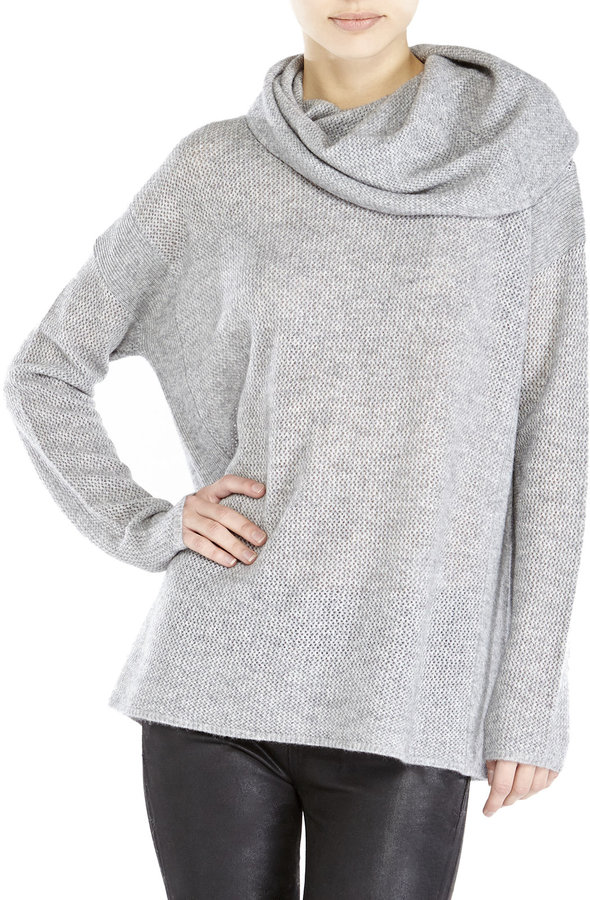 In Cashmere Waffle Knit Cowl Neck Cashmere Sweater Where to buy & how t...