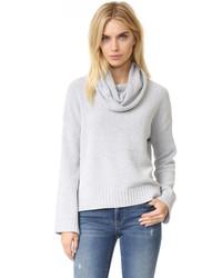 BB Dakota Marcilly Cowl Neck Cropped Sweater
