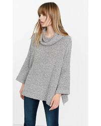Marl Cowl Neck Boxy Sweater