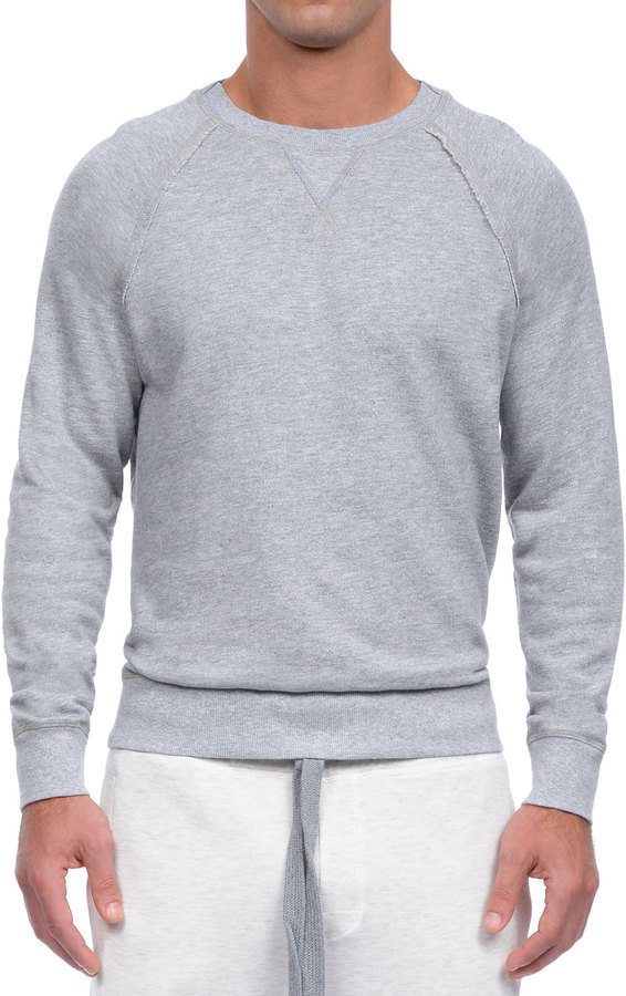 2xist Active Core Woven Crewneck Sweatshirt Light Gray | Where to ...