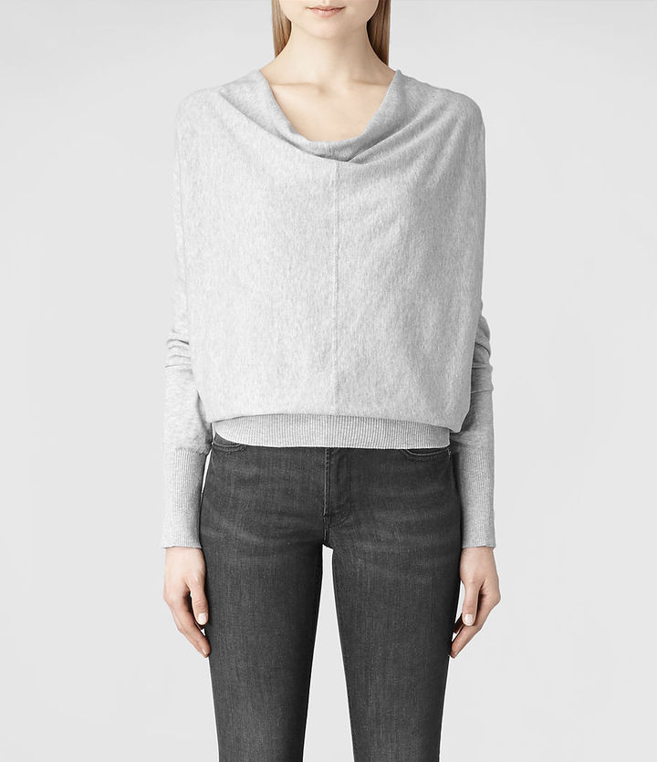 AllSaints Elgar Cowl Neck Sweater | Where to buy & how to wear