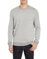 Nordstrom Men's Shop Birds Eye Crewneck Sweater
