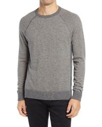 Vince Birds Eye Stitch Wool Cashmere Sweater