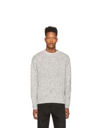 John Elliott Black And White Clarkson Sweater