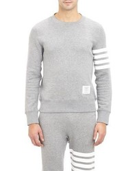 Thom Browne Block Stripe Felpa Sweatshirt