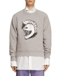 Burberry Brushed Back Pallas Helmet Jersey Sweatshirt