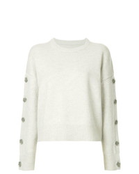 Nili Lotan Button Sleeves Jumper