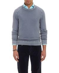 Massimo Alba Cashmere Crewneck Sweater Grey