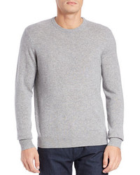Black Brown 1826 Cashmere Crewneck Sweater
