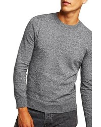 Topman Classic Fit Twist Crewneck Sweater