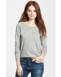 James Perse Classic Raglan Sweatshirt