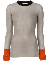 Colour block sweater medium 4346444